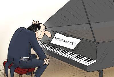 начинающий пианист